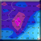 Pronóstico del Tiempo en Sevilla: Semana 43 (21-27 Octubre 2013)