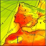 Pronóstico Fin de Semana y Playas: Calor y Alertas